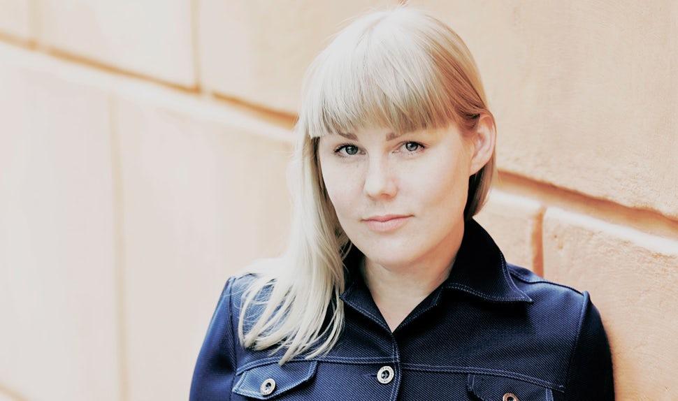 Magazine des parents BABYBJÖRN – Maria Hellbjörn, mère de jeunes enfants et journaliste à Göteborg.