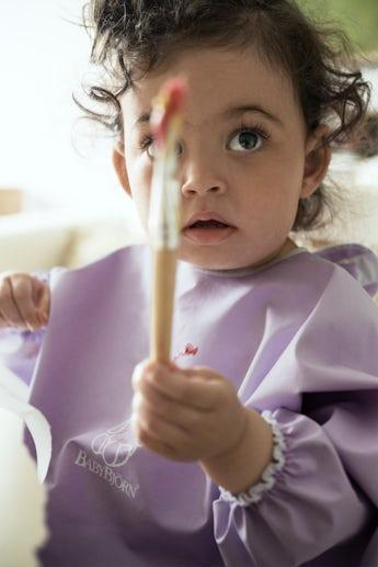 Kinderschurze Violett - BABYBJÖRN