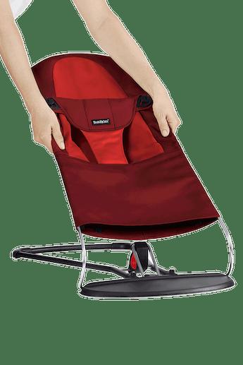 Fabric Seat for Bouncer Balance Soft Red Orange - BABYBJÖRN