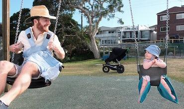 BABYBJÖRN Magazine – Johannes on paternity leave in Australia.