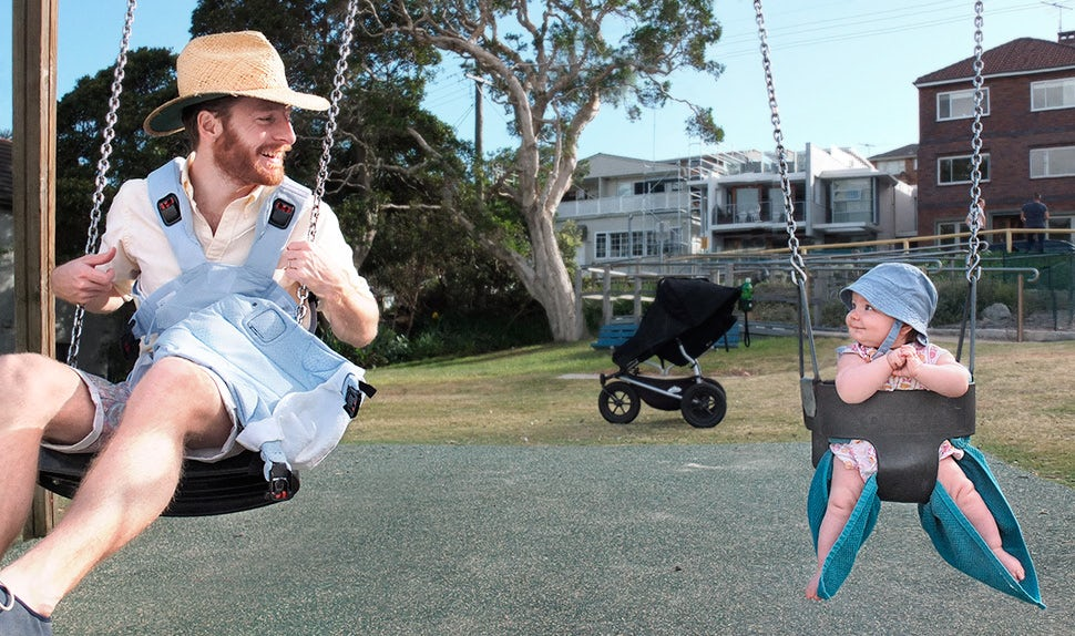 BABYBJÖRN Magazin – Johannes in seiner Väterzeit in Australien.