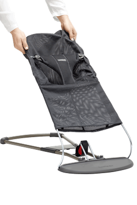 Fabric Seat for Bouncer Bliss Anthracite Mesh - BABYBJÖRN