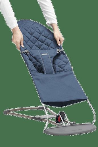 Zusatzlicher Stoffsitz fur Babywippe Bliss Mitternachtsblau Cotton - BABYBJÖRN