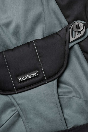 Zusätzlicher Stoffsitz für Babywippe Balance Soft Schwarz/Dunkelgrau Cotton - BABYBJÖRN