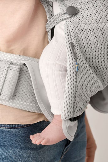 Baby Carrier One Air Silver 3D Mesh - BABYBJÖRN