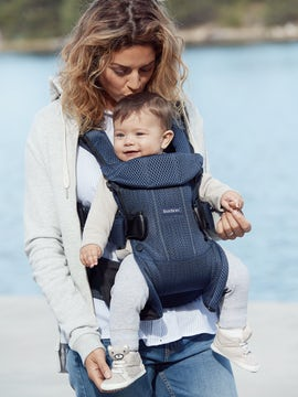 Baby Carrier One Air - Navy Blue - 3D-Mesh - BABYBJÖRN