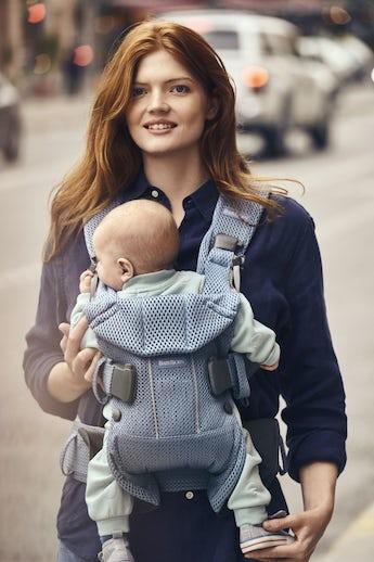 Porte-bébé One Air Bleu Ardoise 3D Mesh - BABYBJÖRN