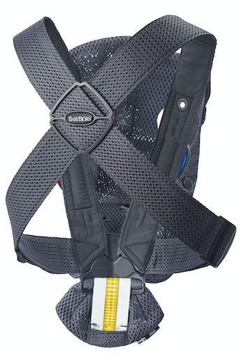 Baby Carrier Mini in Anthracite 3D Mesh - BABYBJÖRN