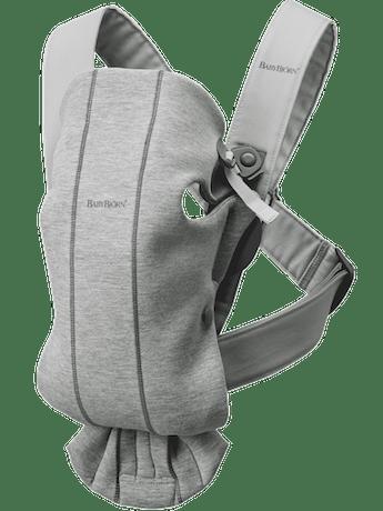Bärsele Mini Ljusgrå 3D Jersey - BABYBJÖRN