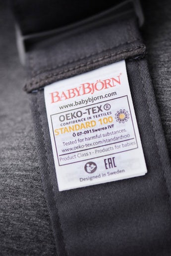 Baby Carrier Mini Dark Grey 3D Jersey - BABYBJÖRN