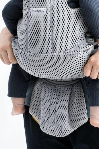Bärsele Move med bra ryggstöd och mjuk och luftig mesh - BABYBJÖRN B
