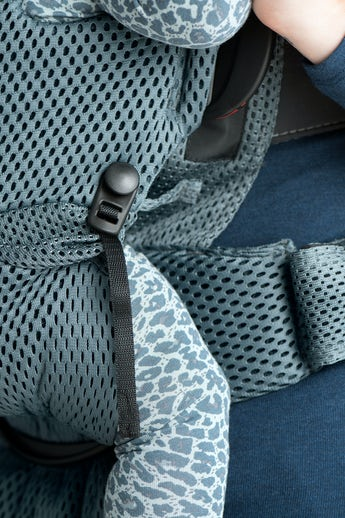 Bärsele Move i luftig mesh med extra axel och ryggsupport - BABYBJÖRN