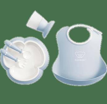 Baby Dinner Set Powder Blue - BABYBJÖRN