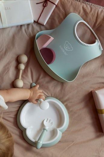 Baby Dinner set in Powder Green - BABYBJÖRN