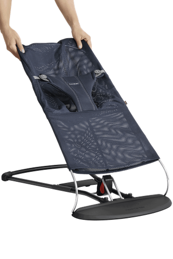 Fabric Seat for Bouncer Bliss Navyblue Mesh - BABYBJÖRN