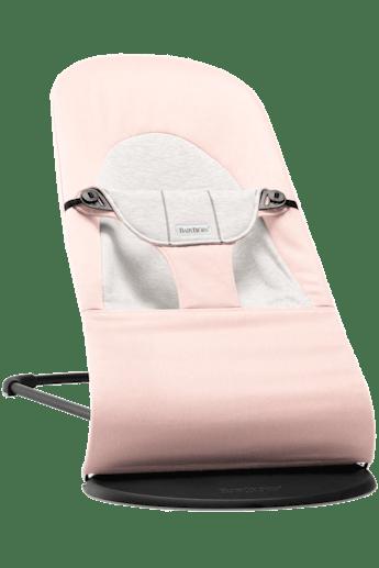 Hamaca Balance Soft Rosa Gris Cotton Jersey - BABYBJÖRN