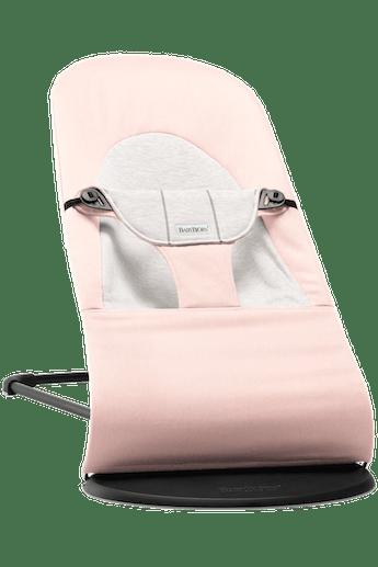 Transat Balance Soft Rose Clari Gris Cotton Jersey - BABYBJÖRN