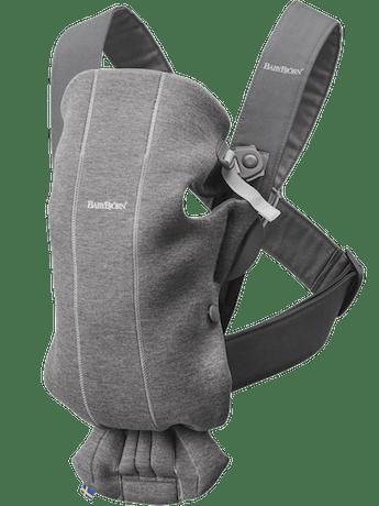 Baby Carrier Mini Dark Grey 3D Jersey - BABYBJÖRN