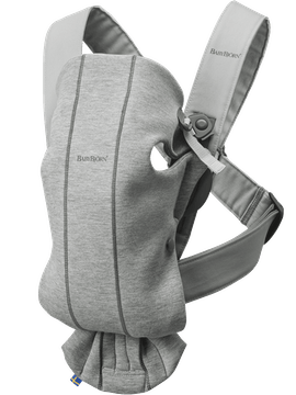 Baby Carrier Mini Lightgrey 3D Jersey - BABYBJÖRN