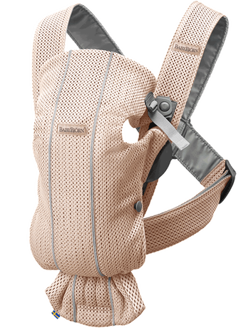 BABYBJORN Baby Carrier Mini, Pearly Pink 3D Mesh