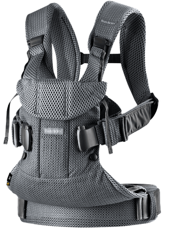 BABYBJORN Baby Carrier Air - Anthracite, 3D mesh