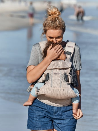 Baby Carrier One Air Pearly Pink 3D Mesh - BABYBJÖRN