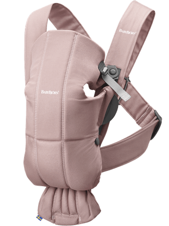 Babytrage Mini Altrosa Cotton - BABYBJÖRN