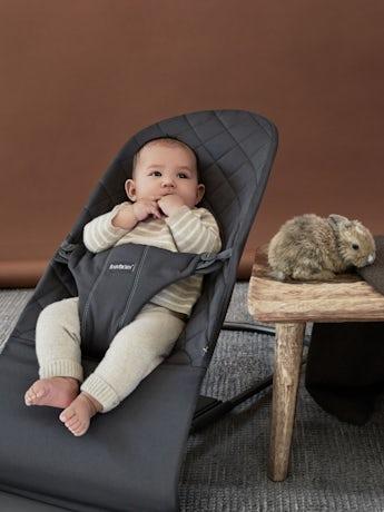 Babywippe Bliss Anthrazitgrau Baumwolle - BABYBJÖRN