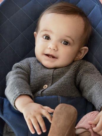 Babywippe Bliss Mitternachtsblau Baumwolle - BABYBJÖRN
