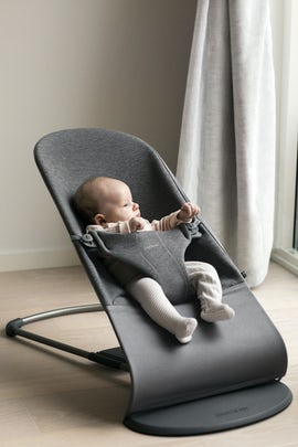 Bouncer Bliss Charcoal Grey 3D Jersey - BABYBJÖRN