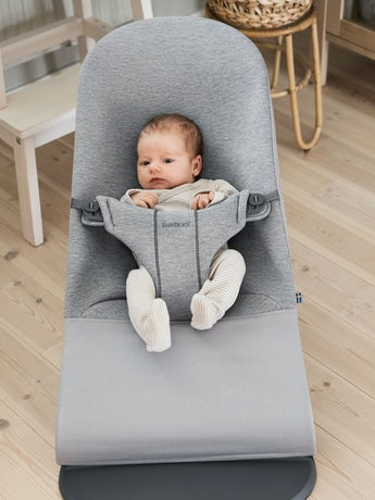 BABYBJORN Bouncer Bliss, Light grey, 3D jersey