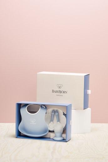 Coffret Repas Bébé Bleu Pastel - BABYBJÖRN