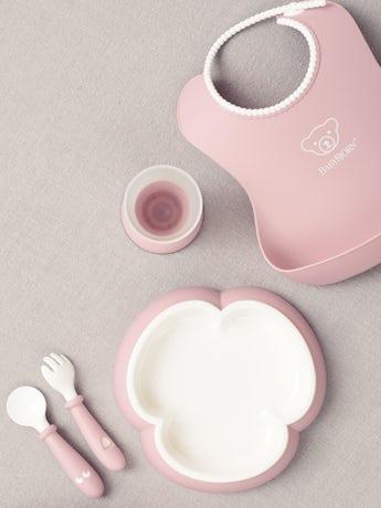 Coffret Repas Bébé Rose Pastel - BABYBJÖRN