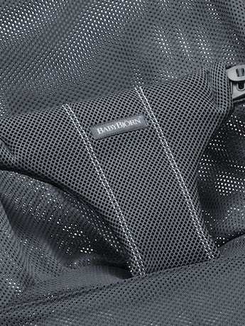 BABYBJORN Fabric Seat for Bouncer Bliss - Anthracite, Mesh