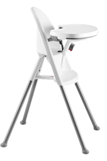 High Chair White Grey - BABYBJÖRN
