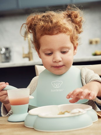 Küchenset für Kinder Blassgrün - BABYBJÖRN