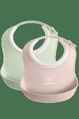 Minibabero 2 Uni Verde Pastel y Rosa Pastel - BABYBJÖRN