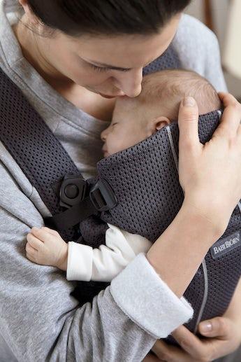 Porte-bébé Mini Anthracite 3D Mesh - BABYBJÖRN
