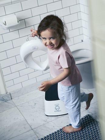 Reductor de WC Blanco Gris - BABYBJÖRN