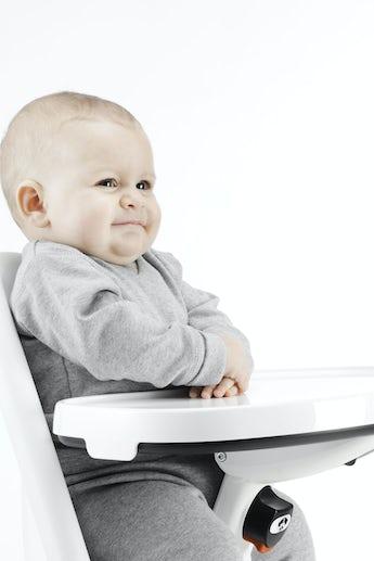 Tablett für Hochstuhl Weiss - BABYBJÖRN
