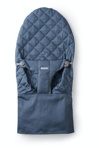 Zusätzlicher Stoffsitz für Babywippe Bliss Mitternachtblau Baumwolle - BABYBJÖRN
