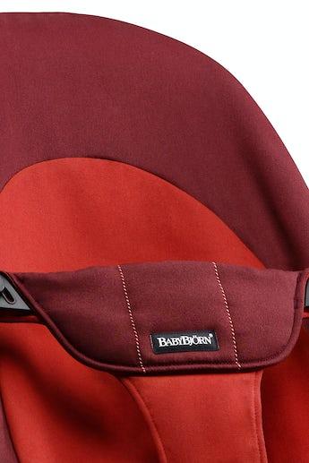 Zusätzlicher Stoffsitz für Babywippe Balance Soft Rost/Orange Cotton - BABYBJÖRN