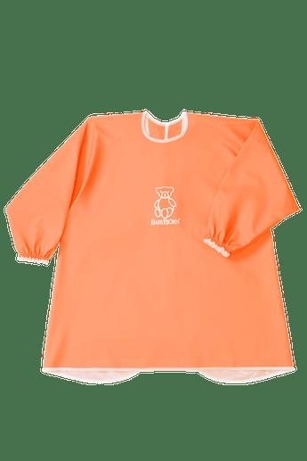 Long Sleeve Bib Orange - BABYBJÖRN
