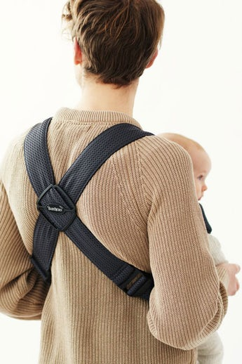 Baby Carrier Mini in Anthracite mesh - BABYBJÖRN