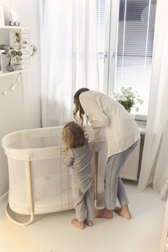 Cuna para Bebe Blanc Mesh - BABYBJÖRN