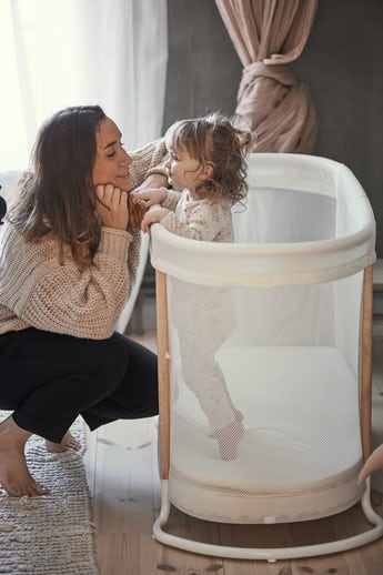 Cuna para Bebé Blanco Mesh - BABYBJÖRN