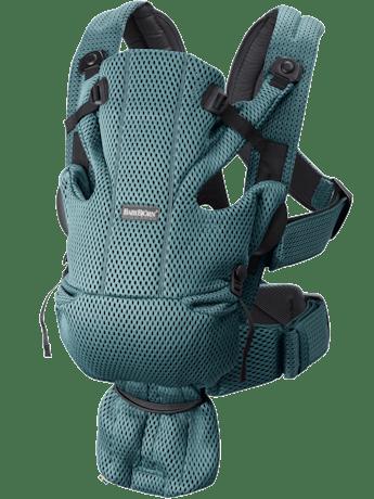 Porte-bébé Move Vert Sauge Mesh 3D - BABYBJÖRN