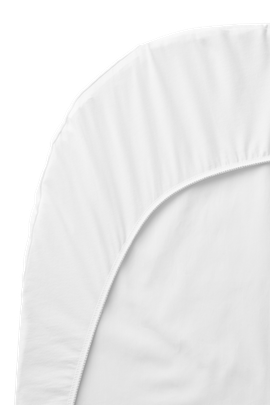 Sábana Ajustable para Cuna para Bebé Blanco Organic Cotton - BABYBJÖRN