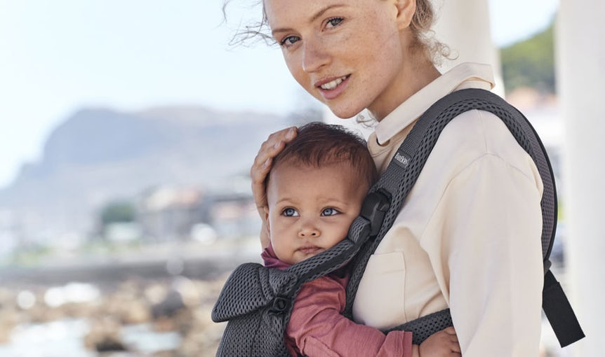 Baby Carrier One Air Anthracite Mesh - BABYBJÖRN