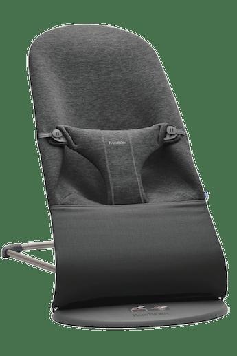 Hamaca Bliss Gris Carbón 3D Jersey - BABYBJÖRN
